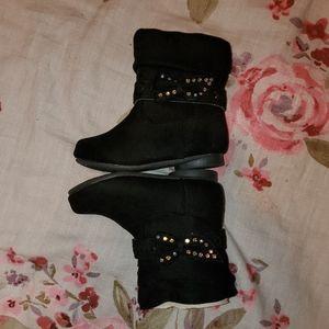 NWOT children's black booties